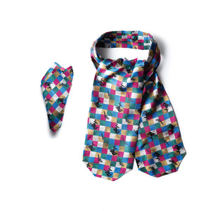 Not Your First Rodeo Cravat & Pocket square
