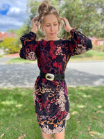 IVKO Floral Midi Dress - Three Bears  #threebearsperth