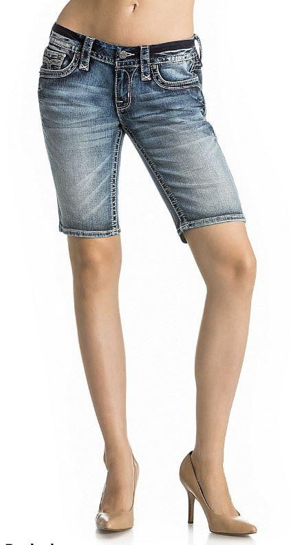 Rock Revival Betty Bermuda Shorts - Three Bears Coastal Urban