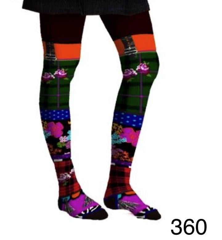 Dub & Drino Tartan Tights - 360 - Three Bears  #threebearsperth