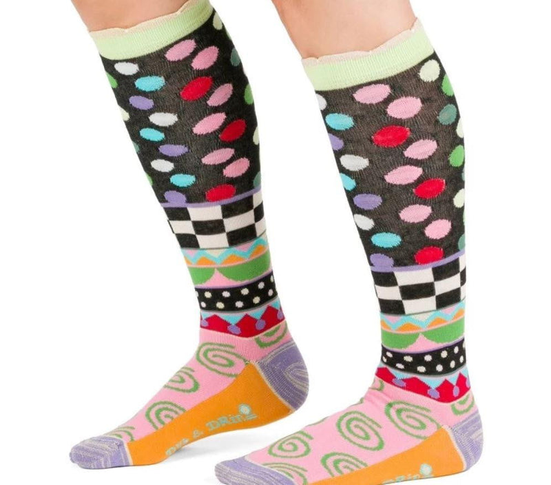 Dub & Drino Dots Knee High Sock - Three Bears Coastal Urban