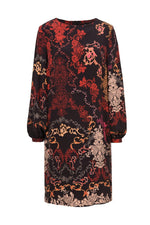 IVKO Floral Midi Dress - Three Bears Coastal Urban