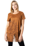 Desigual Floral Top with Fringe - Three Bears  #threebearsperth