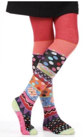 Dub & Drino Knee High Velvet Socks (387)