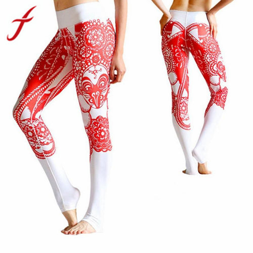 Autumn Winter Fitness Pants High Waist Leggings