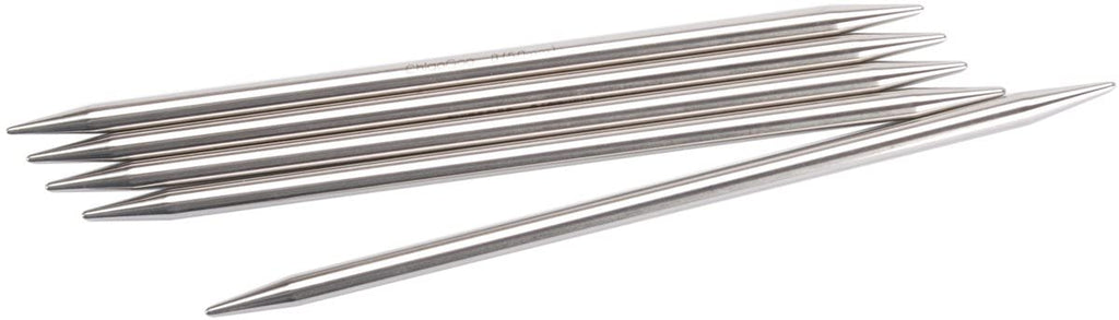 "ChiaoGoo Premium 8"" Stainless Steel Double Point Needles at Michigan Fine Yarns"