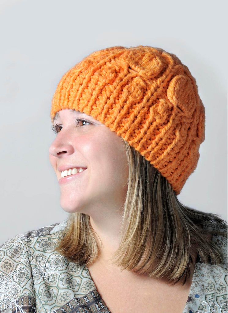 Blue Sky Fibers Chinese Lantern Hat Kit at Michigan Fine Yarns
