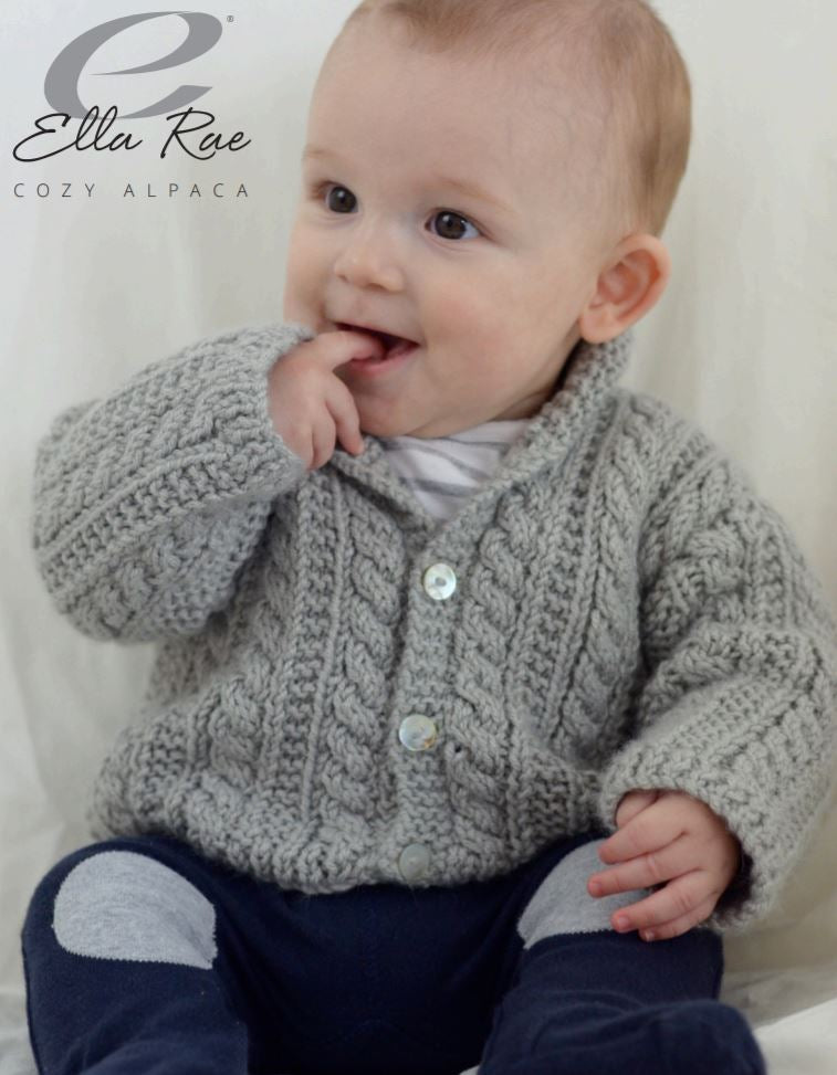 Boy's Cable Cardigan PDF