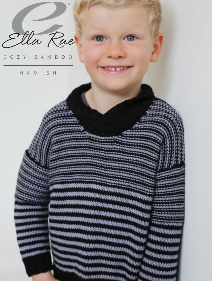 Ella Rae Hamish Pullover at Michigan Fine Yarns
