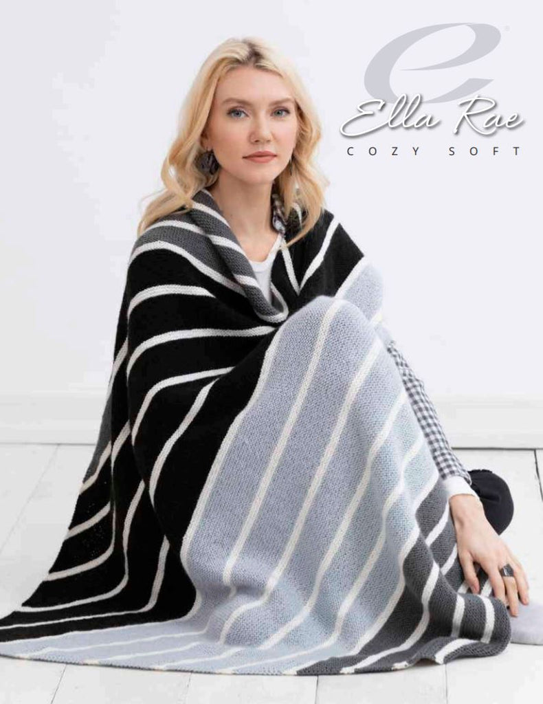 Ella Rae Makenna Blanket at Michigan Fine Yarns