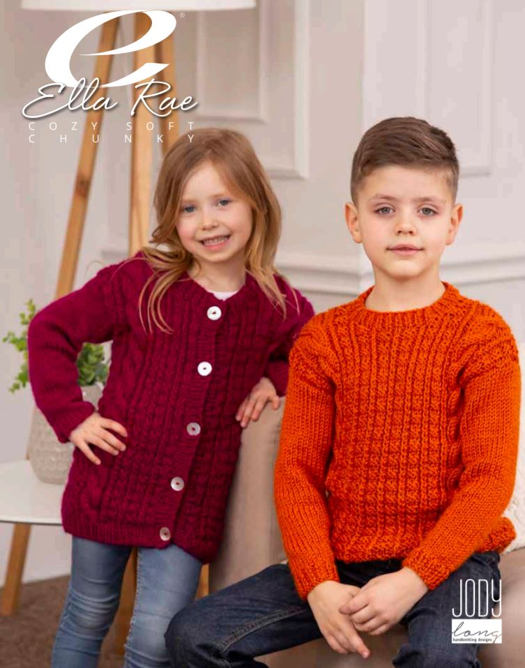 Ella Rae Taylor Sweater & Cardigan at Michigan Fine Yarns
