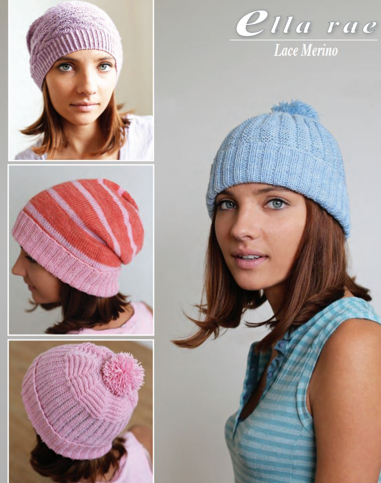 Ella Rae Ribbed Beanie Set at Michigan Fine Yarns