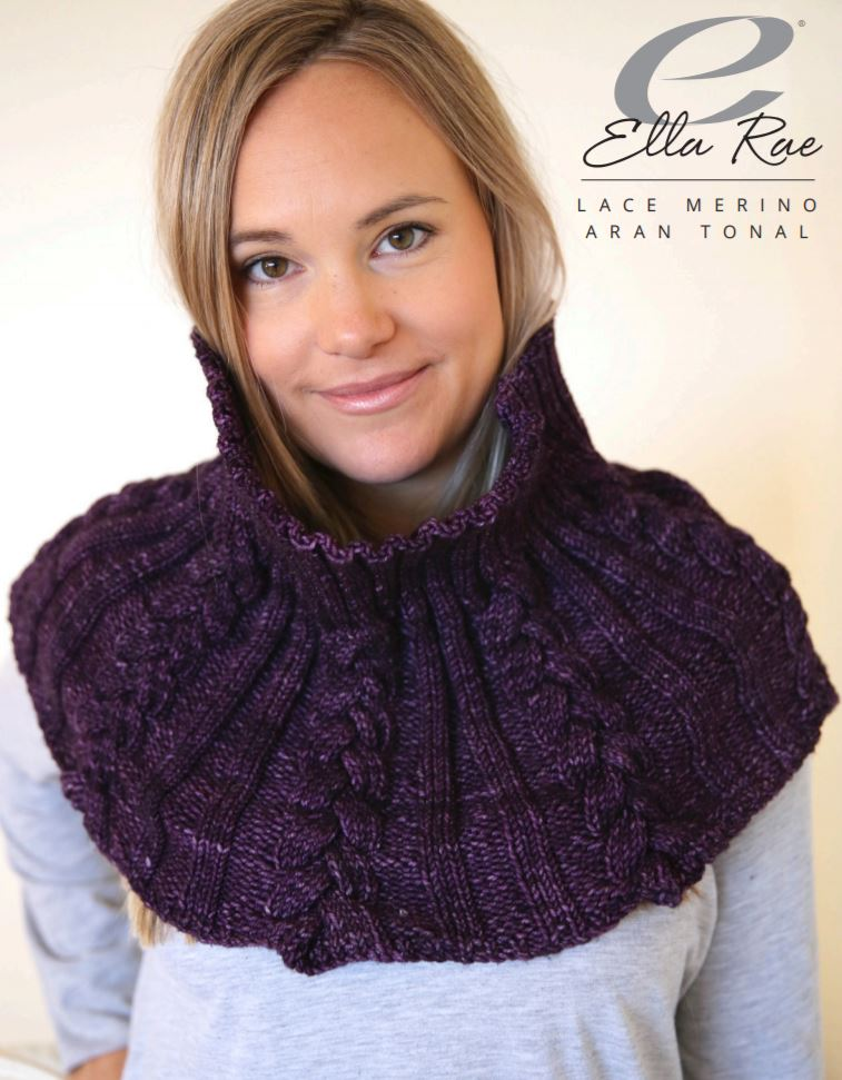Ella Rae Como Capelet at Michigan Fine Yarns