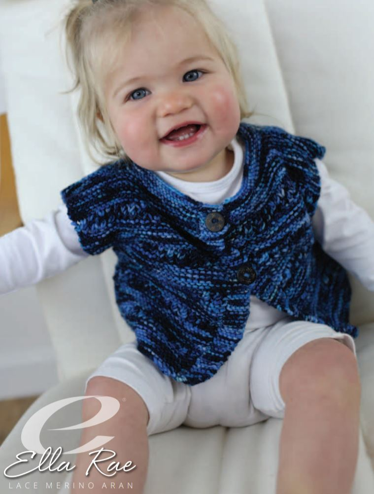 Ella Rae Lucie Baby Top at Michigan Fine Yarns