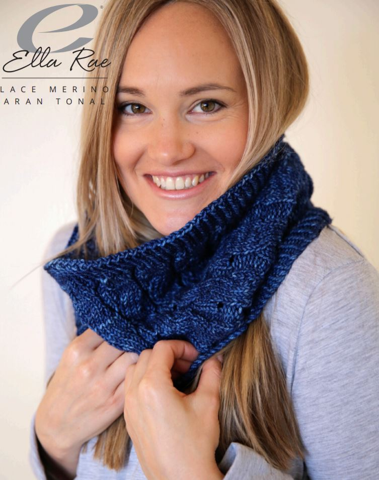 Ella Rae Ripples Cowl at Michigan Fine Yarns