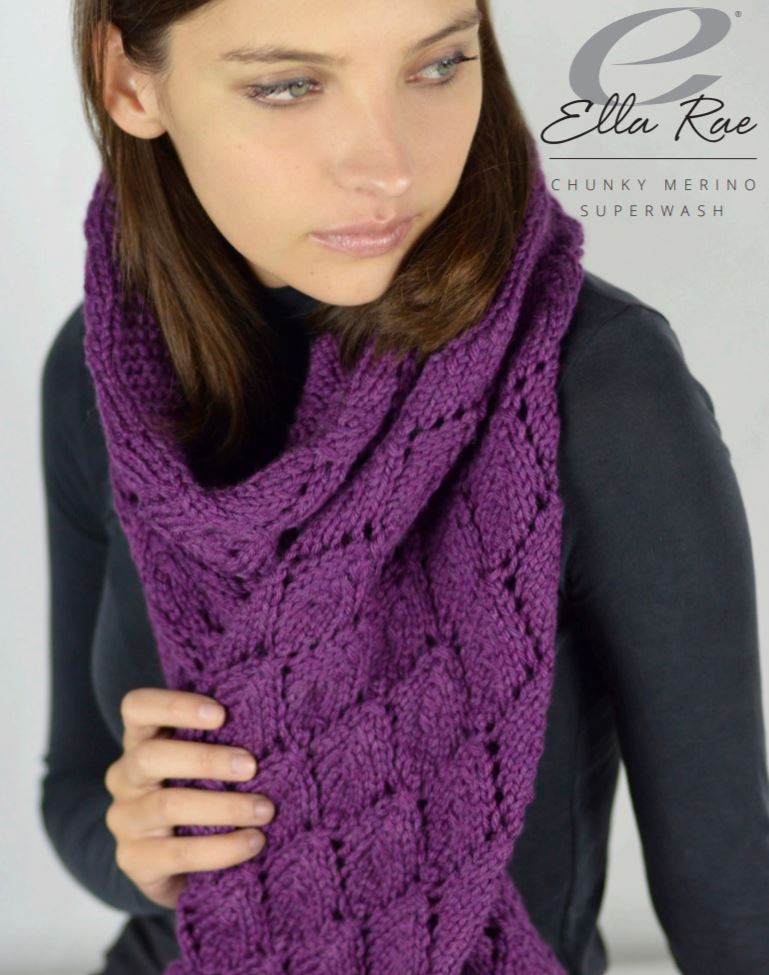 Ella Rae Bridget Scarf at Michigan Fine Yarns