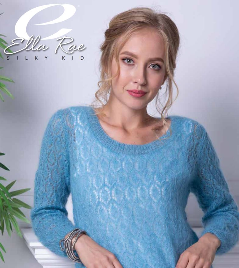 Ella Rae Elsa Sweater at Michigan Fine Yarns