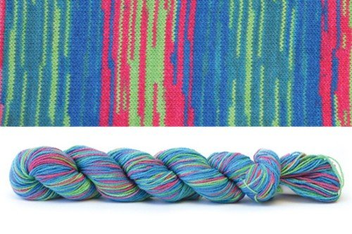HiKoo CoBaSi at Michigan Fine Yarns