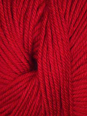 Ella Rae Cozy Soft in 20 - Bright Red | Michigan Fine Yarns