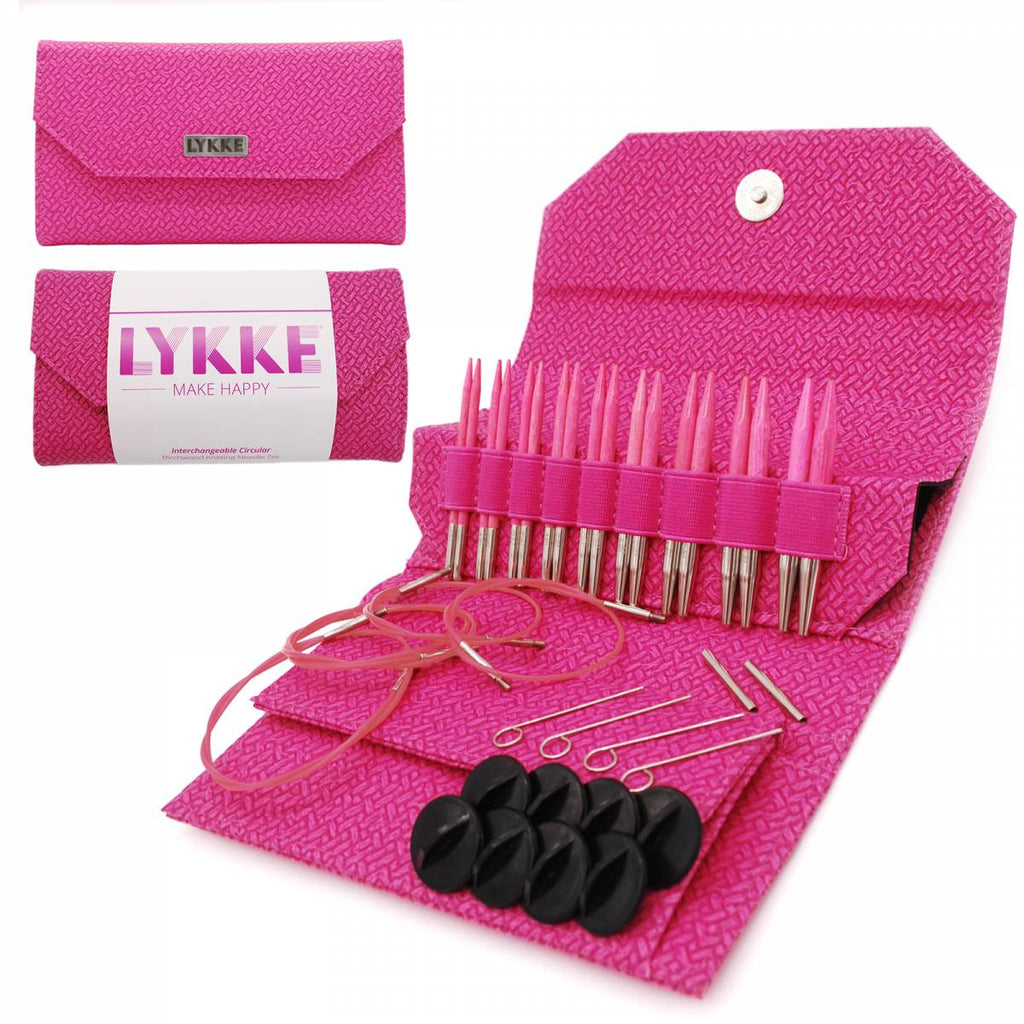 "LYKKE Blush 3.5"" Interchangeable Circular Needle Set"