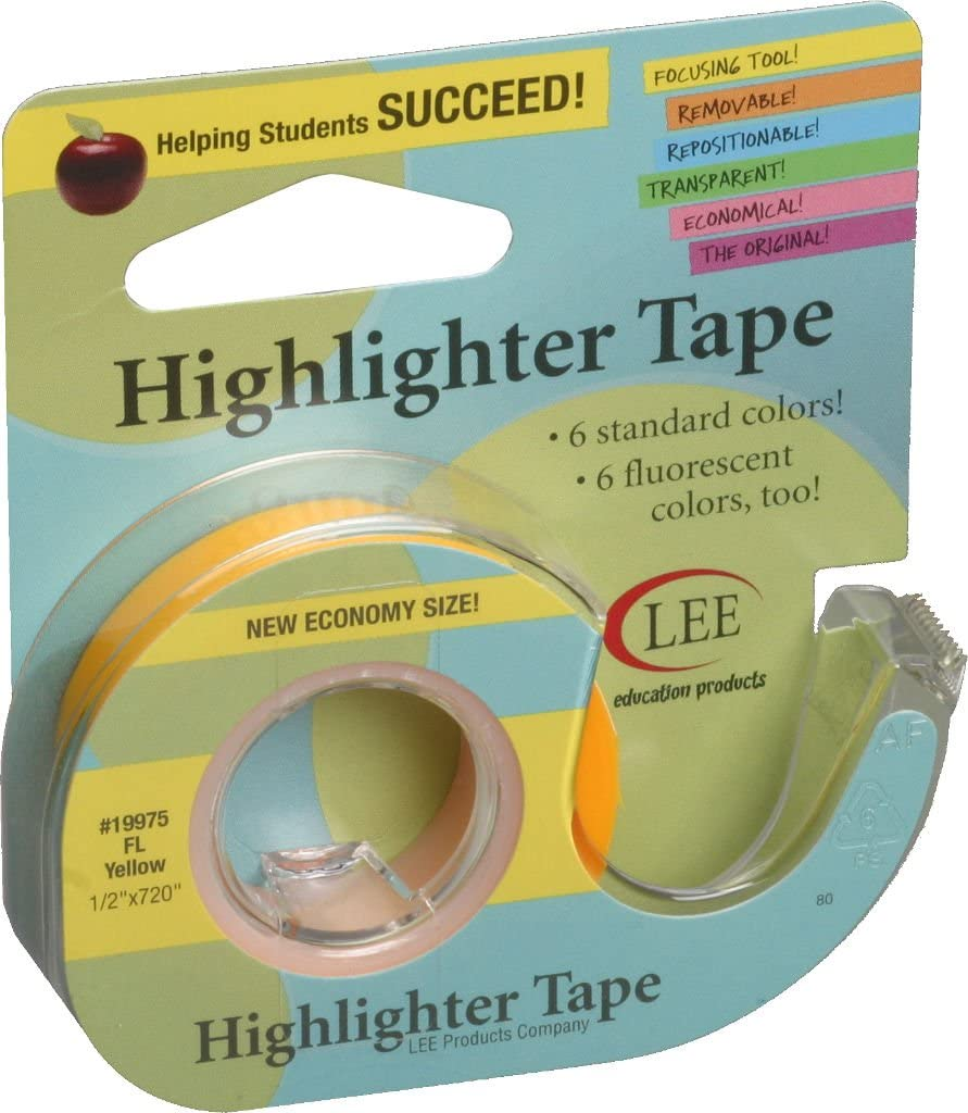 Lee Products Co. Lee's Highlighter Tape at Michigan Fine Yarns