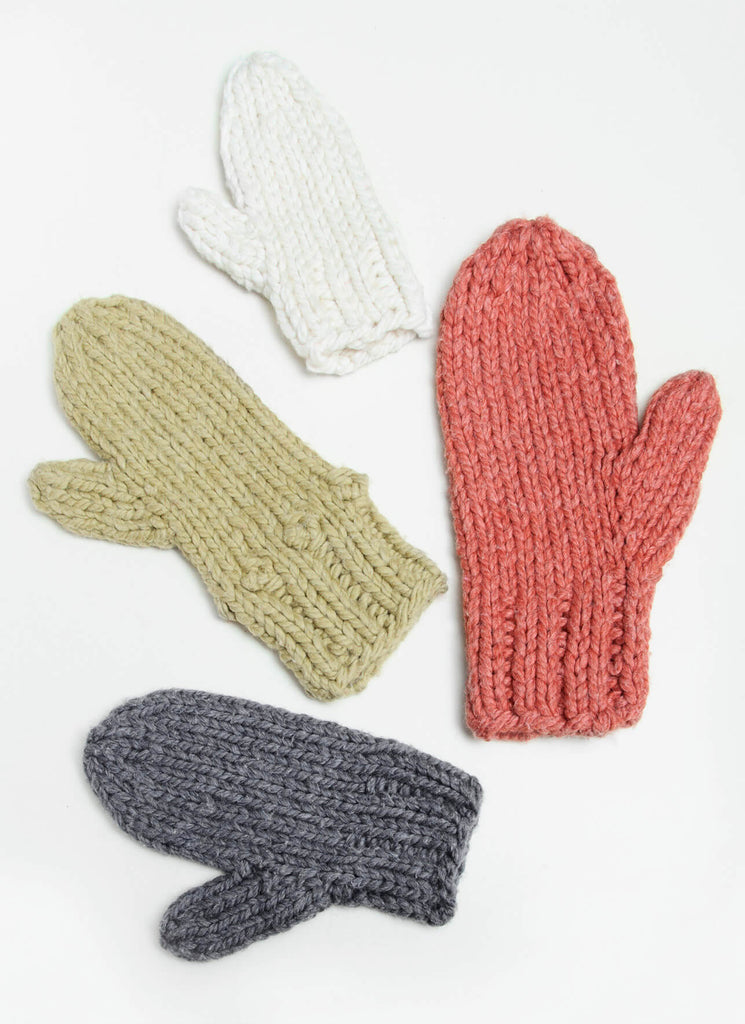 Blue Sky Fibers Outsider Mittens Kit at Michigan Fine Yarns