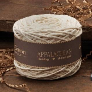 Appalachian Baby Design Chunky U.S. Organic Cotton Yarn Ball at Michigan Fine Yarns