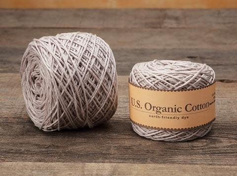 Appalachian Baby Design U.S. Organic Cotton Sport Weight Yarn 194 yards at Michigan Fine Yarns