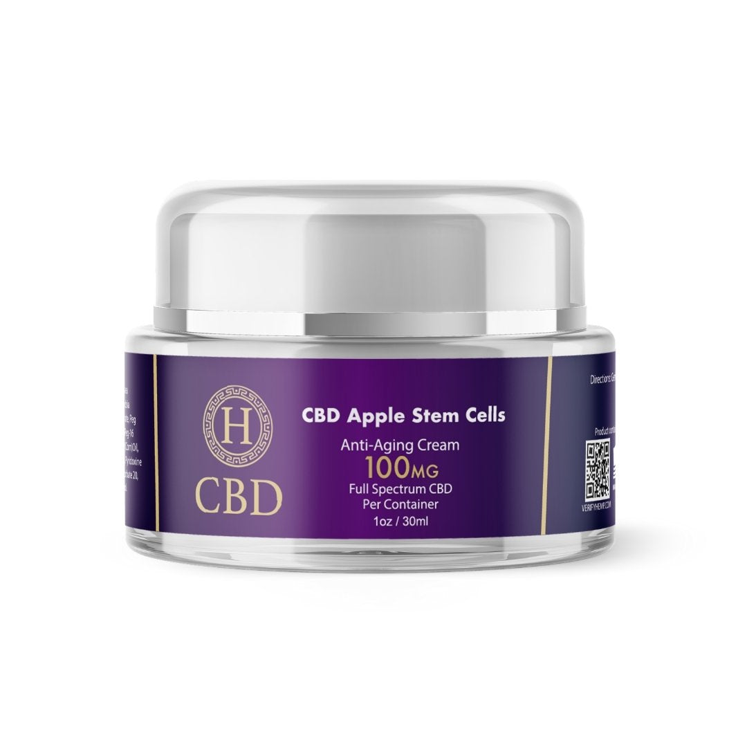 CBD + Apple Stem Cells Anti-Aging Cream