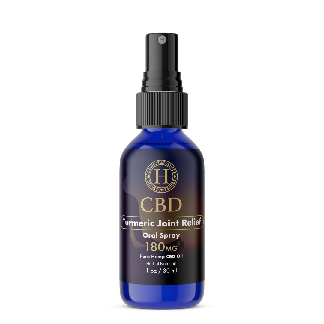TURMERIC JOINT RELIEF - CBD ORAL SPRAY