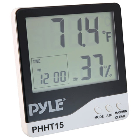 Pyle Pro(R) PHHT15 Indoor Digital Hygro-Thermometer
