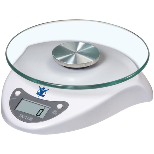 The Biggest Loser(R) 3831BL 6.6lb-Capacity Digital Food Scale