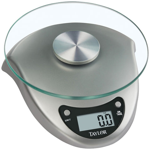 Taylor(R) Precision Products 3831S Silver Digital Kitchen Scale