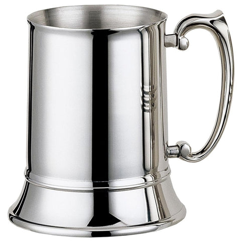 Visol Gondor 16 oz Mirror Finish Stainless Steel Beer Mug