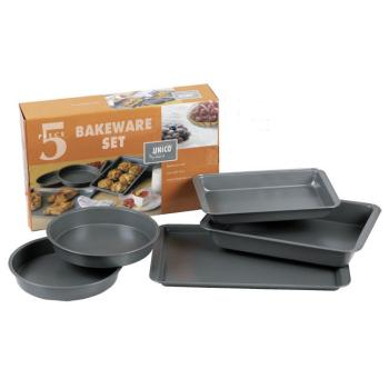 5 Piece Bakeware Set Case Pack 6