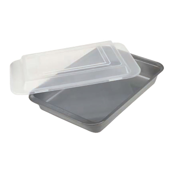 Covered Cake Pan Non-stick 9x13