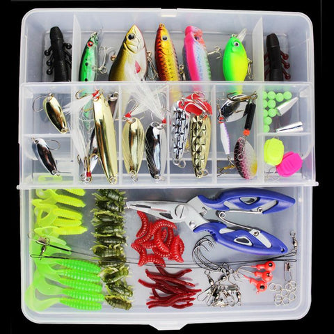 101 pcs Bionic Fishing Lure