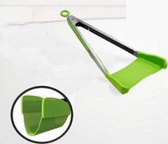 2-in1 Non-Stick Spatula Tongs