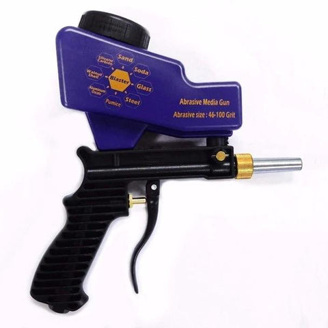 Portable Gravity Feed Sandblasting Gun