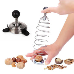 Spiral Spring Nut Cracker