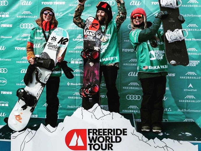 Michaela Davis-Meehan Takes 2nd At World Freeride Tour Event In Hakuba