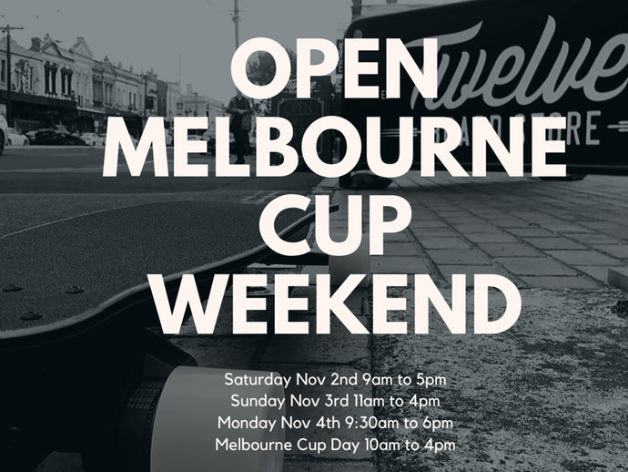 Open All Melbourne Cup Weekend