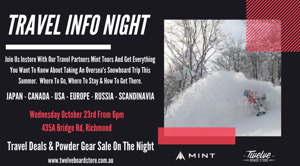 Mint Tours Travel Info Night