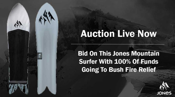 Jones Mountain Surfer Auction For Bush Fire Relief