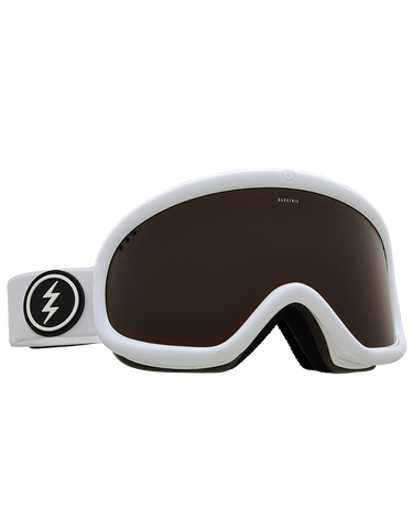 Electric Charger Goggle | Gloss White