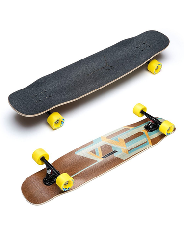Loaded Basalt Tesseract Complete Longboard | Nude