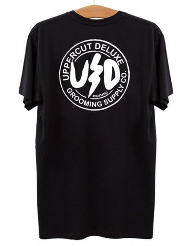 Uppercut Deluxe Bolt Tee Black