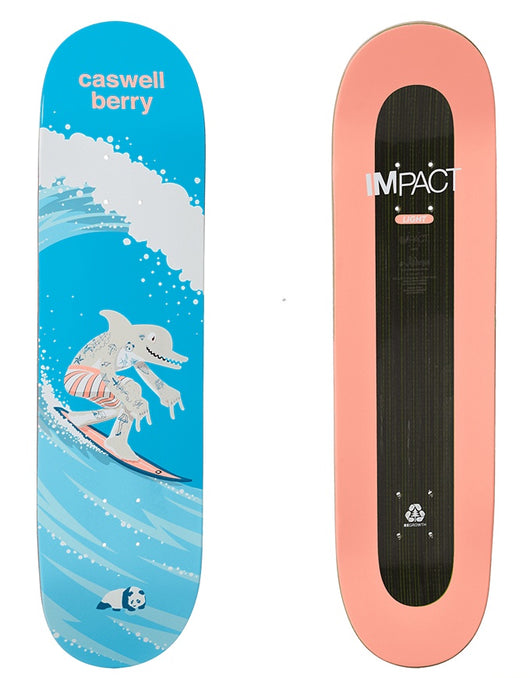 Enjoi Surf's Up Impact Light Caswell Berry Deck | 8.125""