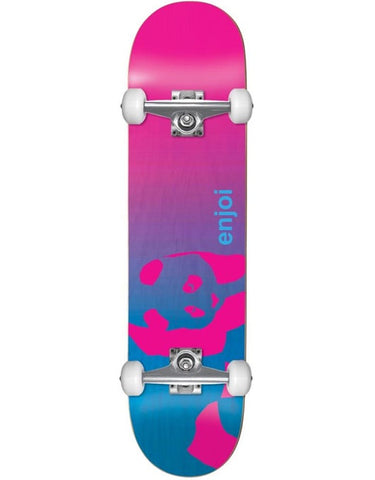 Enjoi Faded Panda Resin Complete Skateboard | 7.75""