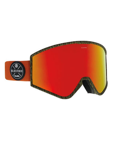 Electric Kleveland Goggle Howl | BRose/Red Chrome